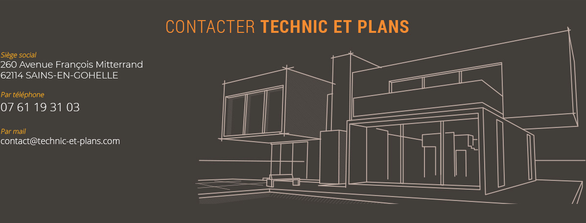 Contacter Technic et Plans